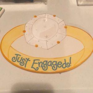 "RARE Coton Colors ""Just Engaged"" Lg Attachment"